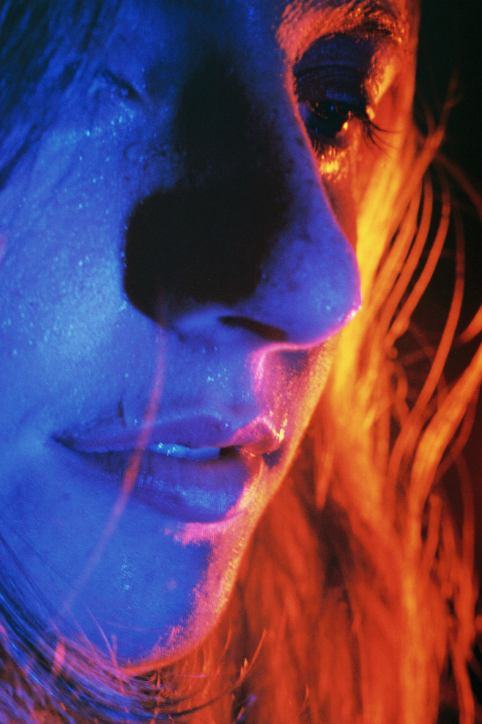 Petra Collins Untitled #4 (24 Hour Psycho) Digital C-print. 65 x 43 inches. Edition of 2.