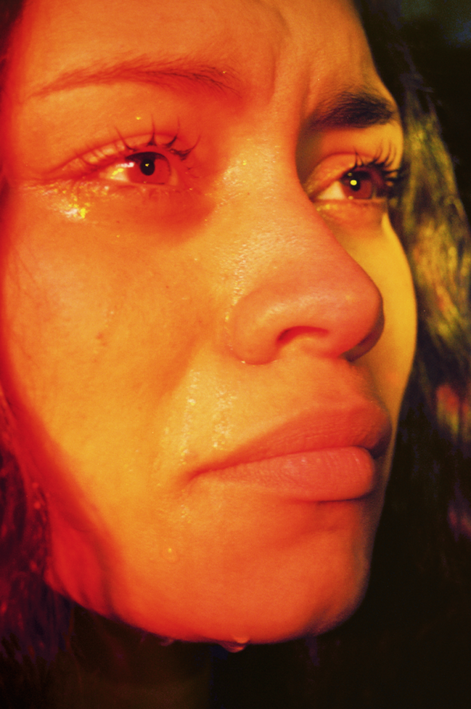 Petra Collins Untitled #15 (24 Hour Psycho) Digital C-print. 65 x 43 inches. Edition of 2.