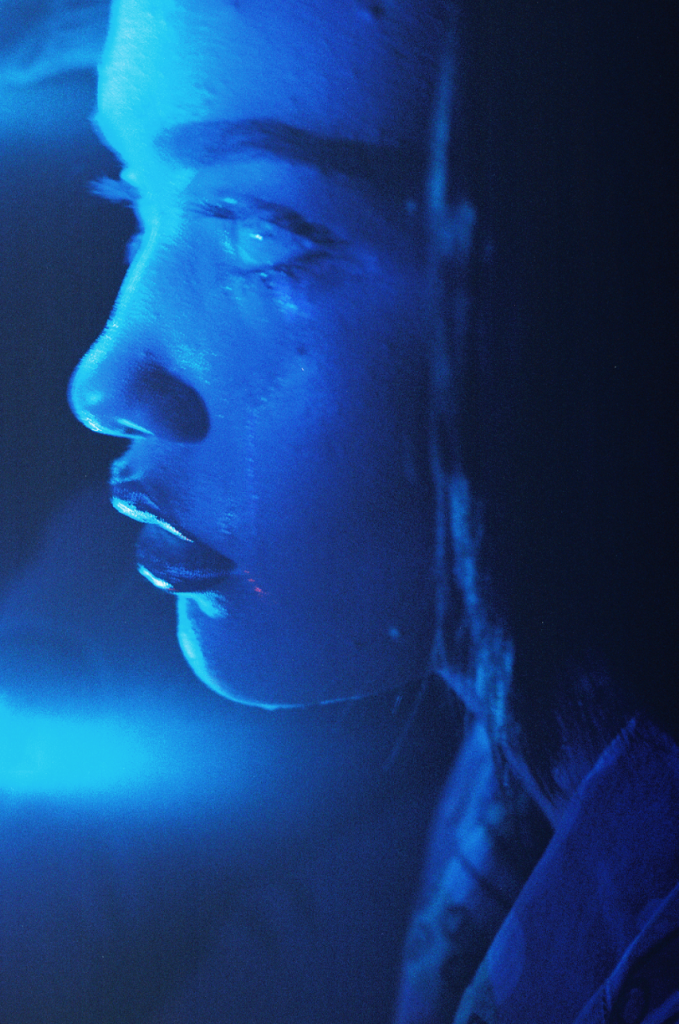 Petra Collins Untitled #17 (24 Hour Psycho) Digital C-print. 65 x 43 inches. Edition of 2.